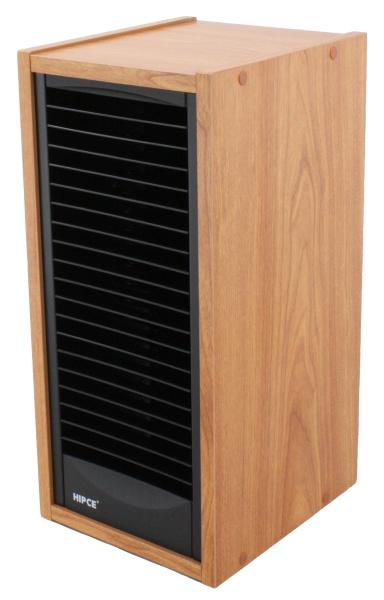 Wooden Disc Towers One Touch Cd Tower Hip Storage