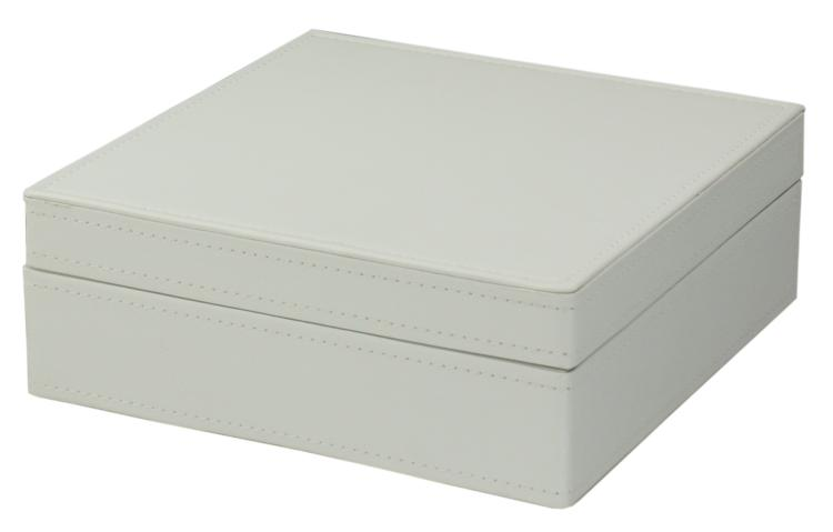 Faux Leather Jewelry Boxes One Level Faux Leather