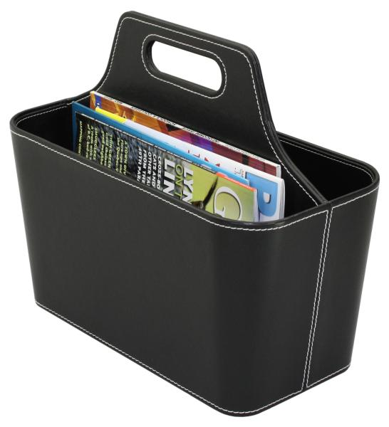 Office Amp Home Items Faux Leather Magazine Holder Hip