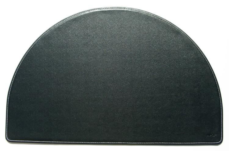 Faux Leather Desk Accessories Desk Pad Round Hip