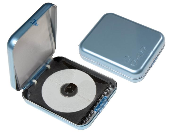 View larger image  sc 1 st  Hip Storage HipCE Disc DVD Storage Solutions & Portable Plastic CD/DVD Case :: Portable CD/DVD Case with Index ...